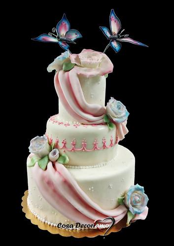 Torte - 92 - Torta Matrimonio