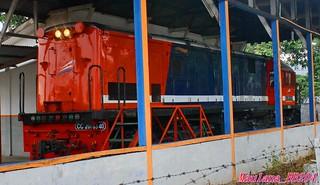 GE U-18C locomotive