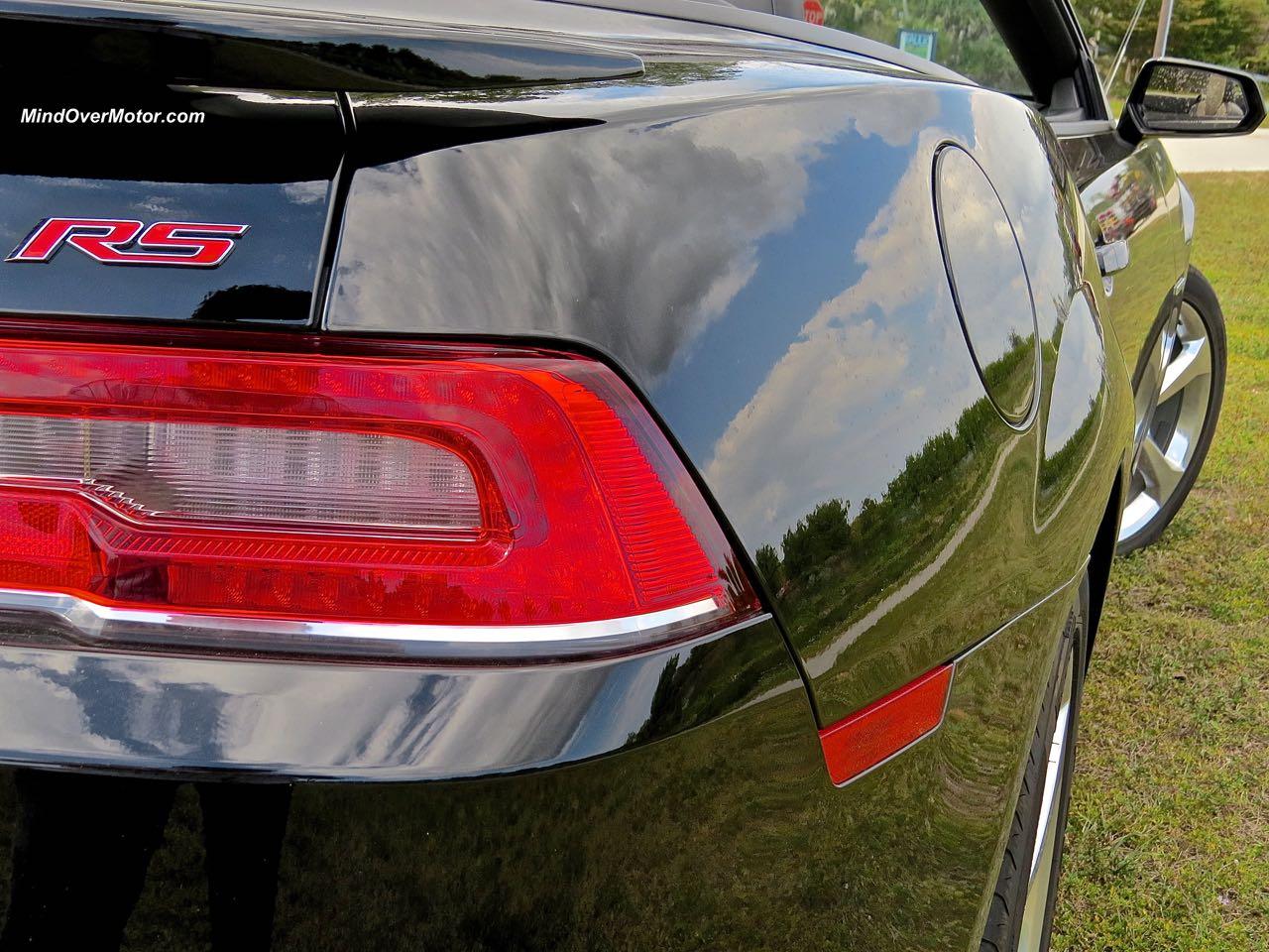 2015 Chevrolet Camaro Convertible Rear Detail