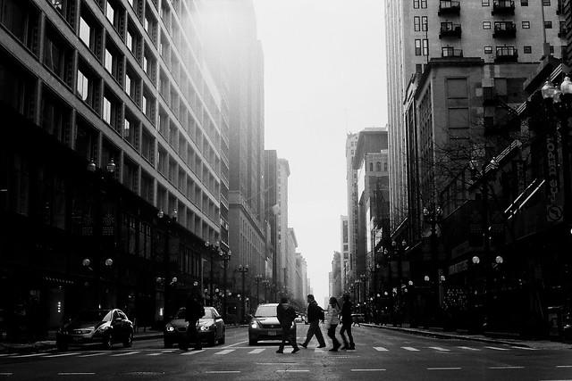 232/365: Chicago Crossing
