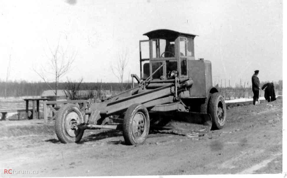 автогрейдер В-1
