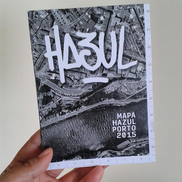 Got my Hazul #streetart map today! Success! #Porto