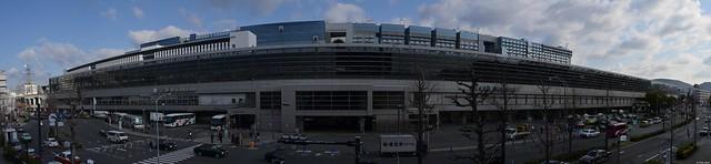 Panorama Bahnhof Kyōto