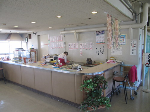 姫路競馬場の特観席売店