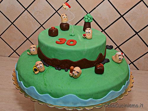 Torte - 46 - Torta Worms