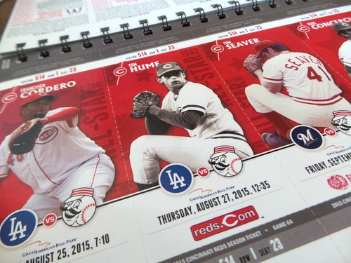 2015 Reds Season Tickets