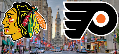 BLACKHAWKS @ FLYERS