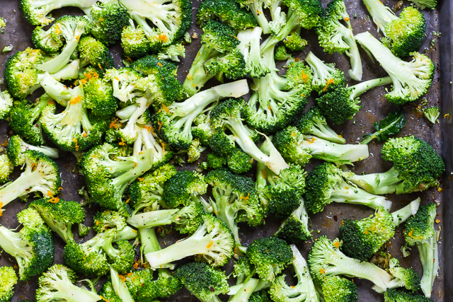 Chili and Citrus-Roasted Broccoli