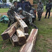 RCS32 Thap Lan rangers unload Siam rosewood confiscated from poachers