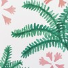 Playing around with a new pattern.                #pattern #illustration #elisabethlangley #painting #paintingintheweekend #ferns #tropical #doitfortheprocess