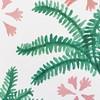 Playing around with a new pattern.                #pattern #illustration #elisabethlangley #painting #paintingintheweekend #ferns #tropical #doitfortheprocess