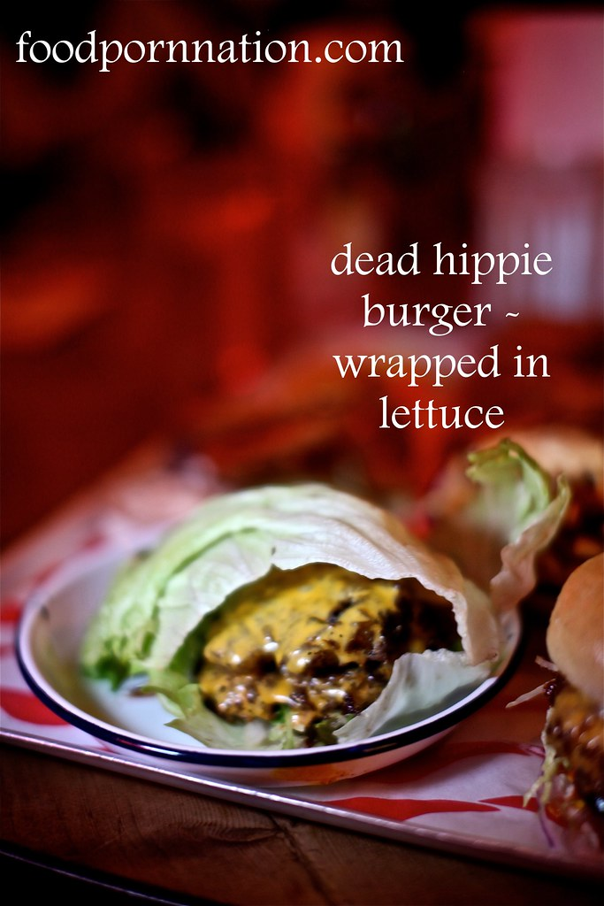 Dead Hippie Burger - MEATliquor - Marylebone - London Food Blog