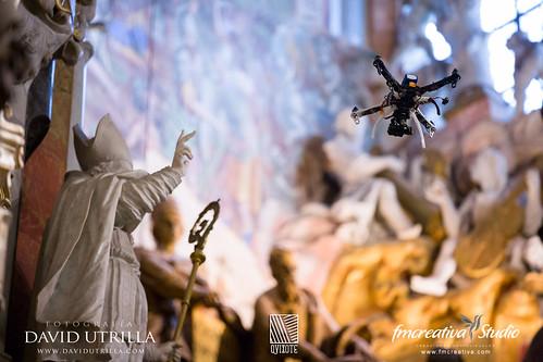 Catedral vuelo Drone