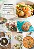 Foolproof Weeknight Meal Planning - Week of 3.23.15