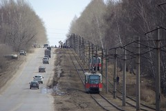 Ryazan tram in last weeks before closing