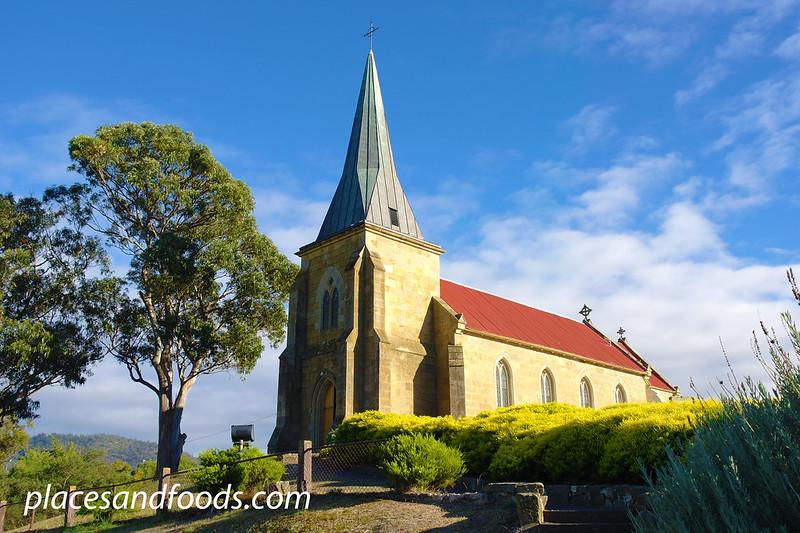 tasmania richmond church