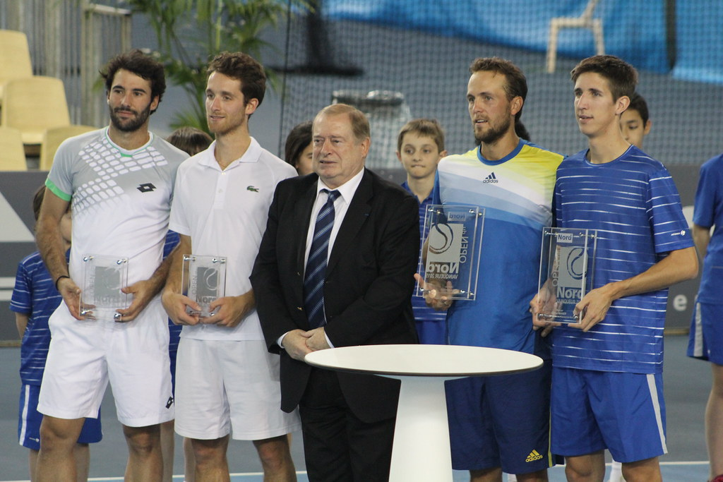 Jonathan Eysseric, Constant Lestienne, Boy Westerhof and Yannick Mertens