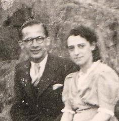 Marcel Callo et sa fiancée