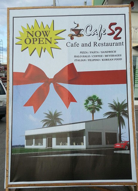 Cafe 52 Cafe & Korean Restaurant at Plaza De Bole - Davao Food Trips 20150331_165506-1