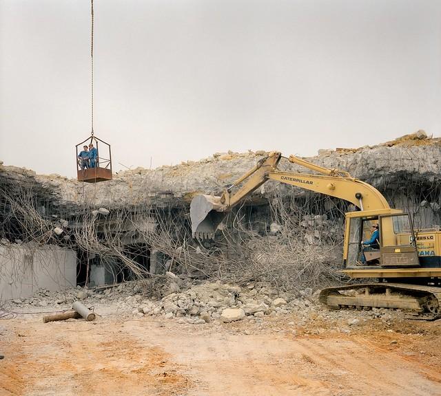 flakturm demolition 1991