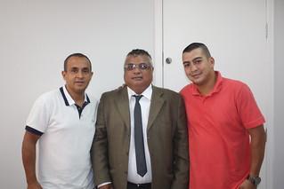 Thell Moreno, liderança da Casa Verde, tem reunião na sede do Solidariedade-SP