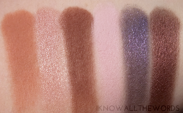 too faced chocolate bar eyeshadow palette swatches row 2