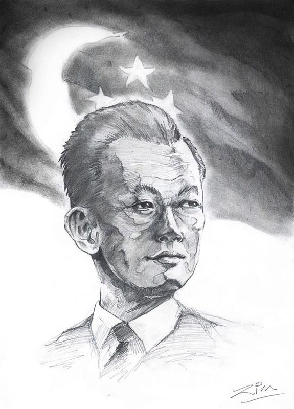 Lee Kuan Yew (Image Credit: Zimu Zhao)
