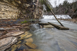 Waterloo Falls, Spring Creek, Overton County, Tennessee 1