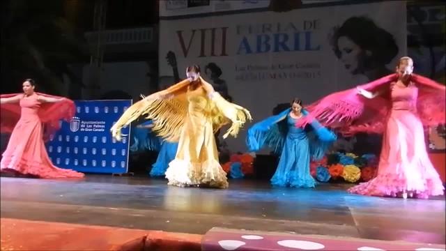 Ballet Embrujo VIII Feria de Abril Las Palmas de Gran Canaria por alegrias