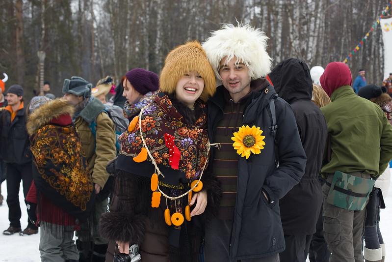 Масляница_Кира и Андрей