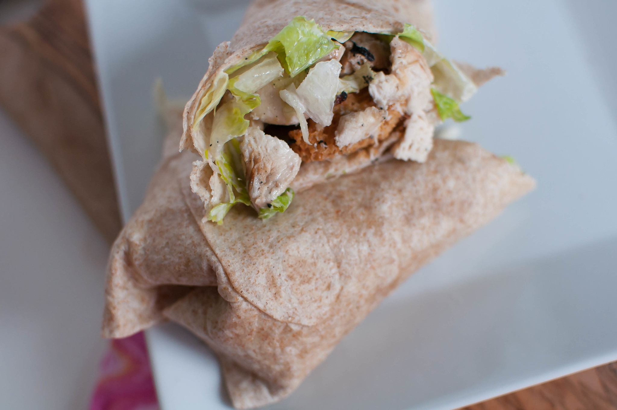 Chicken Caesar Wraps 1