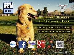 April 24 #LastFriday Dogs and Drones Meetup in Henderson, Nevada @cityofhenderson @Visit_Henderson @mypublib