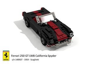 Ferrari 250 GT LWB California Spyder (Scaglietti 1959)