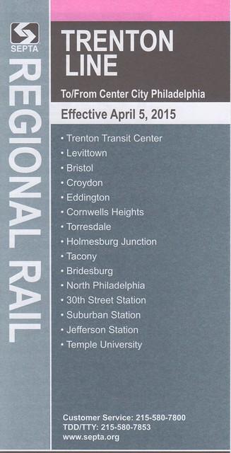 Trenton Line 2015