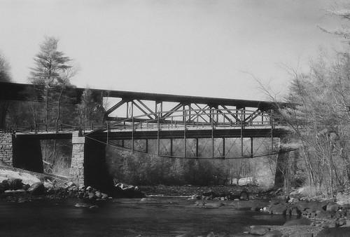 Hadley Bow Bridge, Hadley, N.Y.