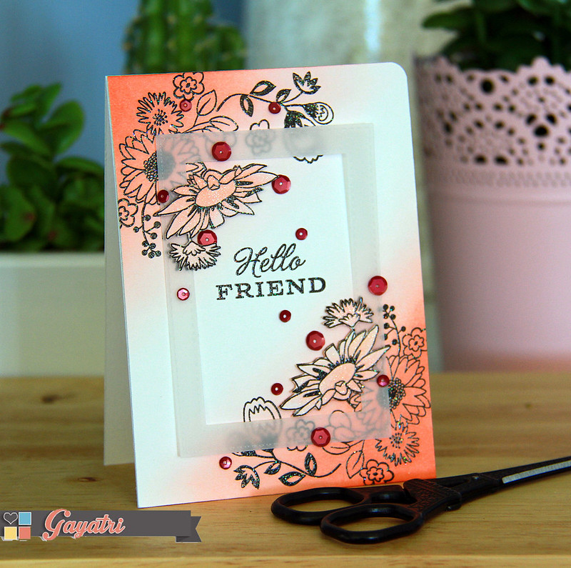 Hello friend card3