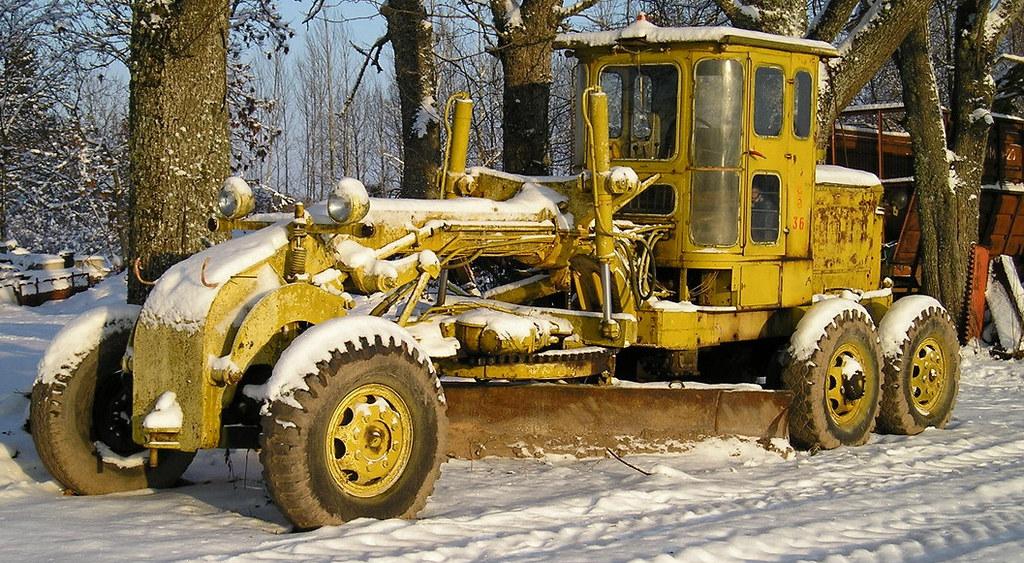 автогрейдер Д-512