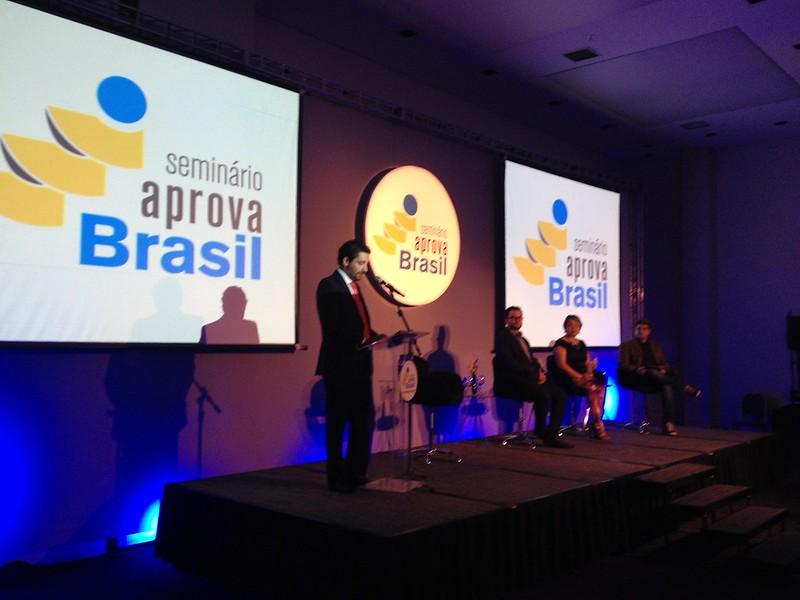 Seminário Aprova Brasil 2015 - Goiânia / GO