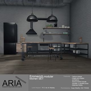[ARIA] Emmerich Modular kitchen set @ 6° Republic!