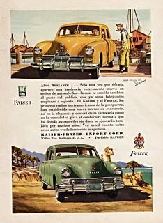 1947 Kaiser-Frazer Ad (Argentina)