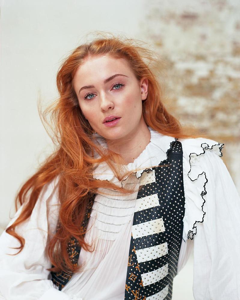 Софи Тёрнер — Фотосессия для «Glamour» UK 2016 – 4