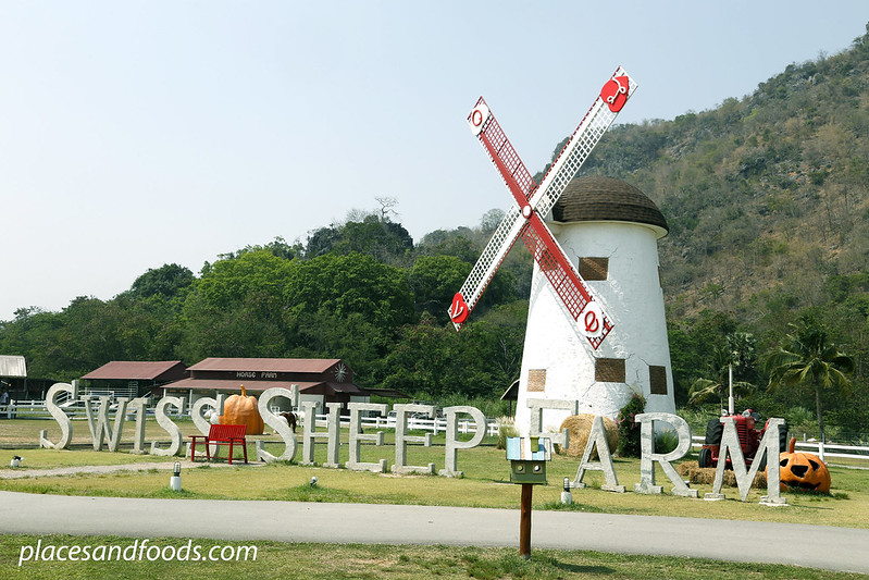 cha am swiss sheep farm windmill