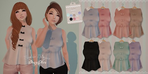 Bowie Blouse ♥ New Release at the Mainstore :)