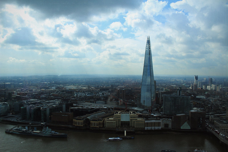 Sky Garden View The Shard 1