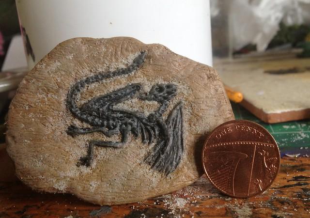Dragon fossil WIP
