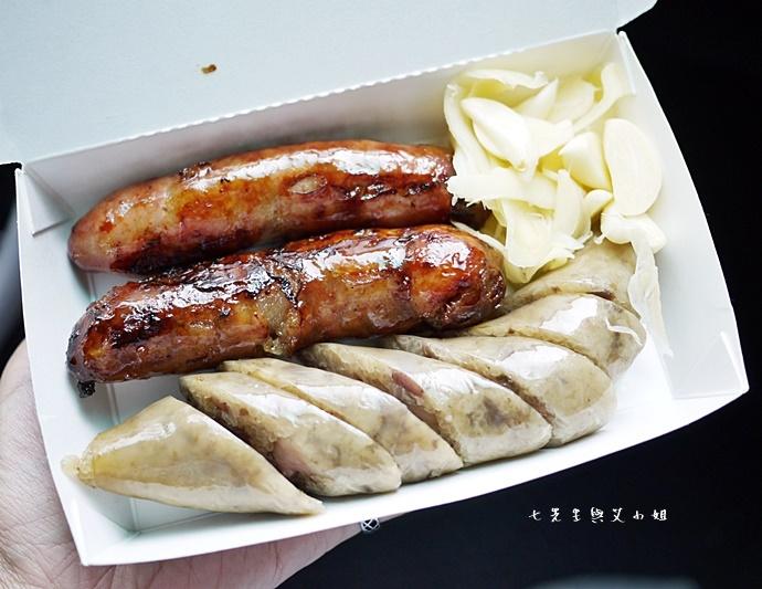 4 嘉義林森香腸 食尚玩家 飄香千里無名香腸攤