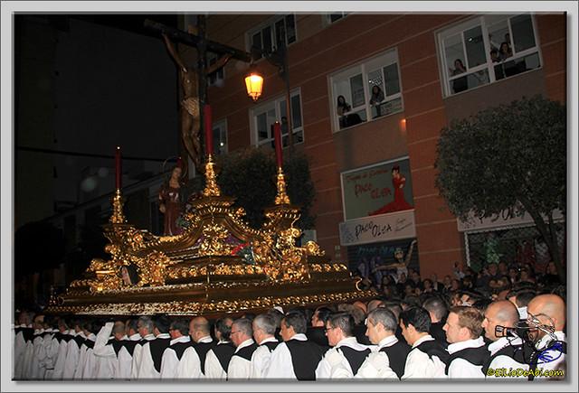 15 Semana Santa en Málaga. Cristo de Mena y Legionarios