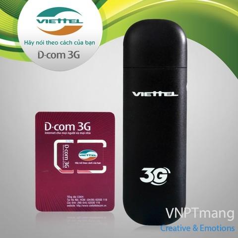 Sim 3G Viettel tặng tới 120 Gb Data tốc độ cao