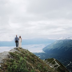 elopement on alyeska. alaska. But seriously I would love to photograph your wedding. Book me on tannerwendell.com Now I'm off to orcas island to photograph a wedding for one of my favorite people @jsharnold