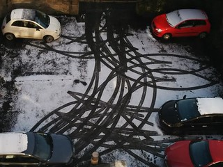 Snow tracks 2015